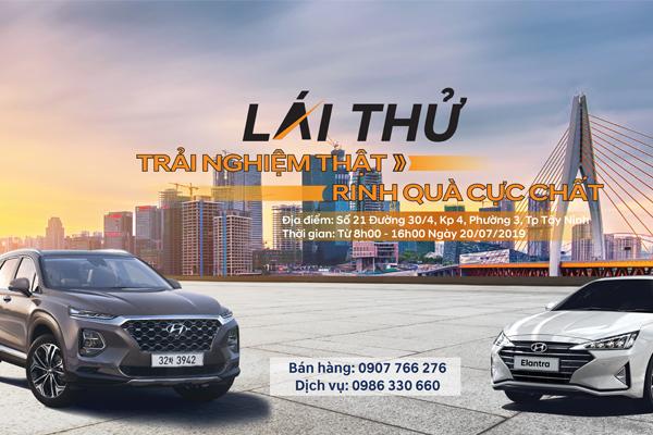 Lái thử - Trải Nghiệm Thật - Rinh quà cực chất cùng hyundai Tây Ninh